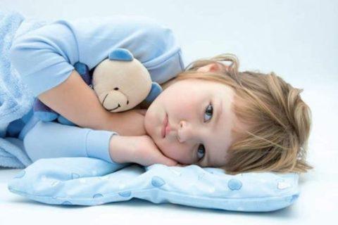 У маленьких детей при пиелоэктазии может возникать вялость и снижение физической активности