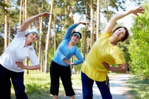 Упражнения должны быть умеренными, но регулярными