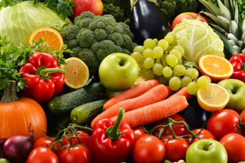 В рационе питания должно много полезных продуктов