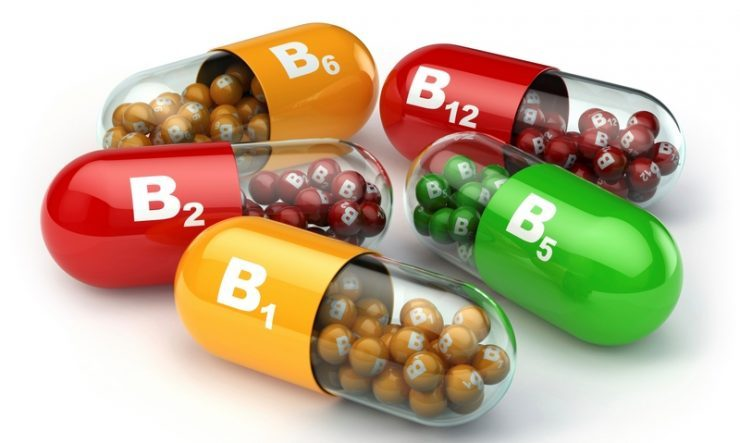 витамины b1, b2, b5, b6, b12