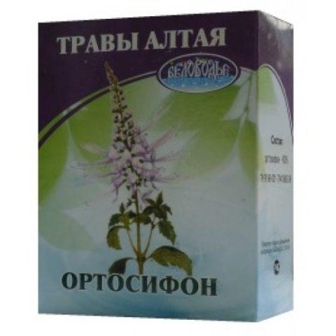 Вывести небольшие конкременты помогает почечный чай «Ортосифон»