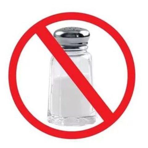 Запрет на соль при болезни почек